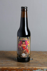 Barrel aged imperial stout. Brewed and bottled by Amager and sold in Latvia by Beerfox