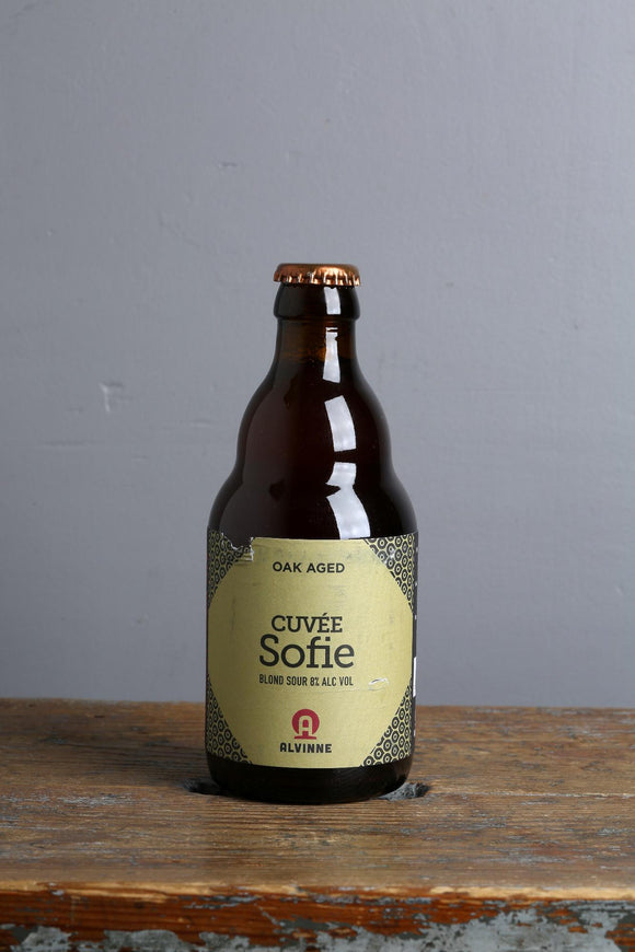 Belgian Blond sour beer from Alvinne, Belgium