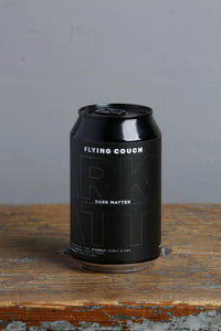 Dark Matter Imperial Stout from Flying Couch Brewery.