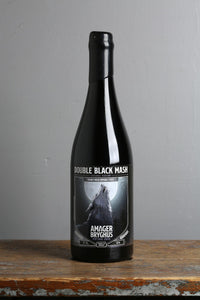 Amager's double black mash imperial stout. 750 ml bottle