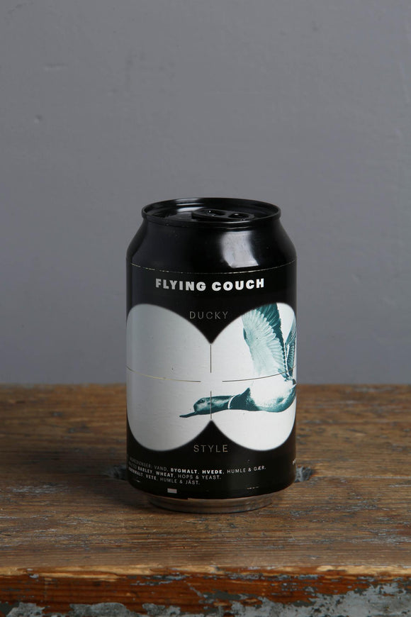 A Brown Ale 330ml can from Flying Couch craft beers in Denmark