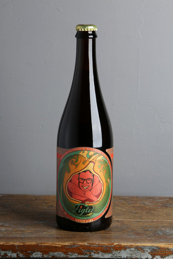 Jester King wild Farmhouse Ale with figs 'Figlet'