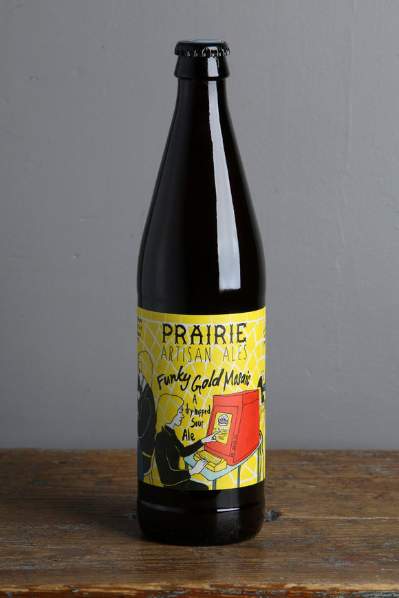 A dryhopped sour ale from Prairie Artisan Ales, USA.