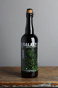 Galaxy White IPA, barrel adged from Anchorage craft beer brewery.