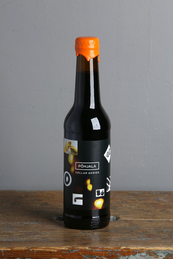 Pohjala Estonian craft beer cellar series, Honey Laku bottle.