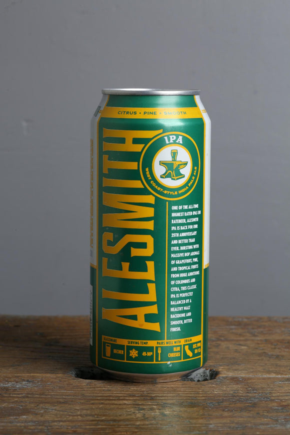 Alesmith IPA beer from the USA