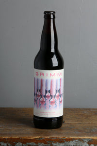 Grimm craft beer brewery's Icing on the Cake Imperial Stout.