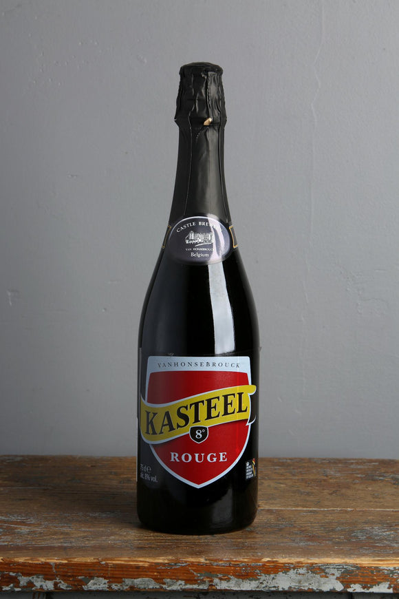 750 ml of Belgian Beer from Kasteel Brewery