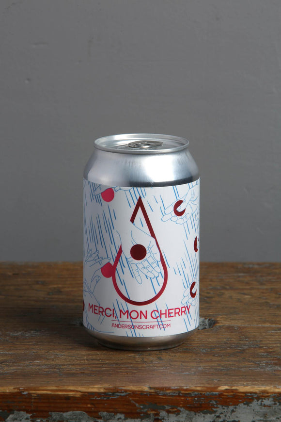 A sweet and sour cherry beer from Anderson's Estonian brewery