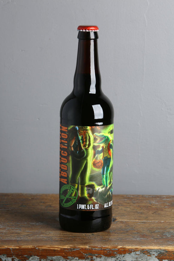 Imperial stout with orange zest and cacoa from Pipeworks, USA