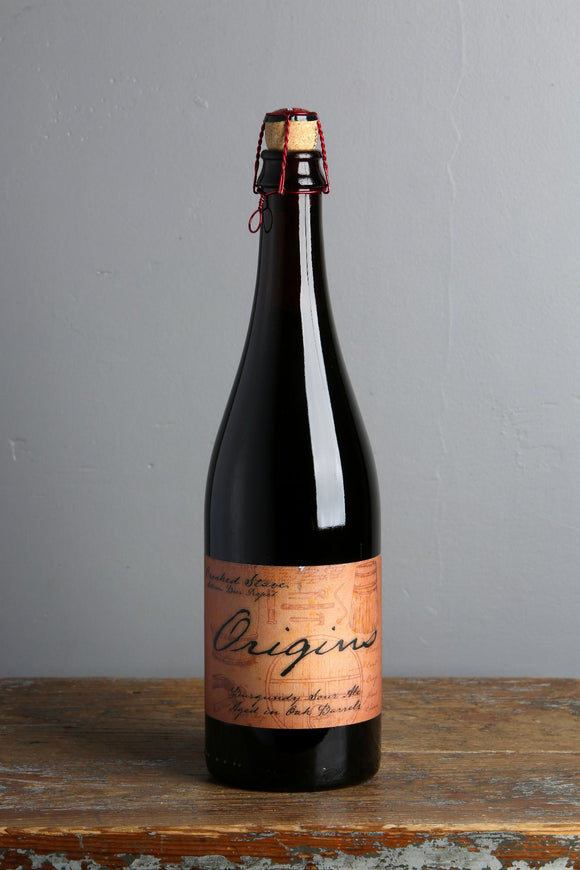 An oak barrel aged sour beer from Crooked Stave artisianal beer brewers