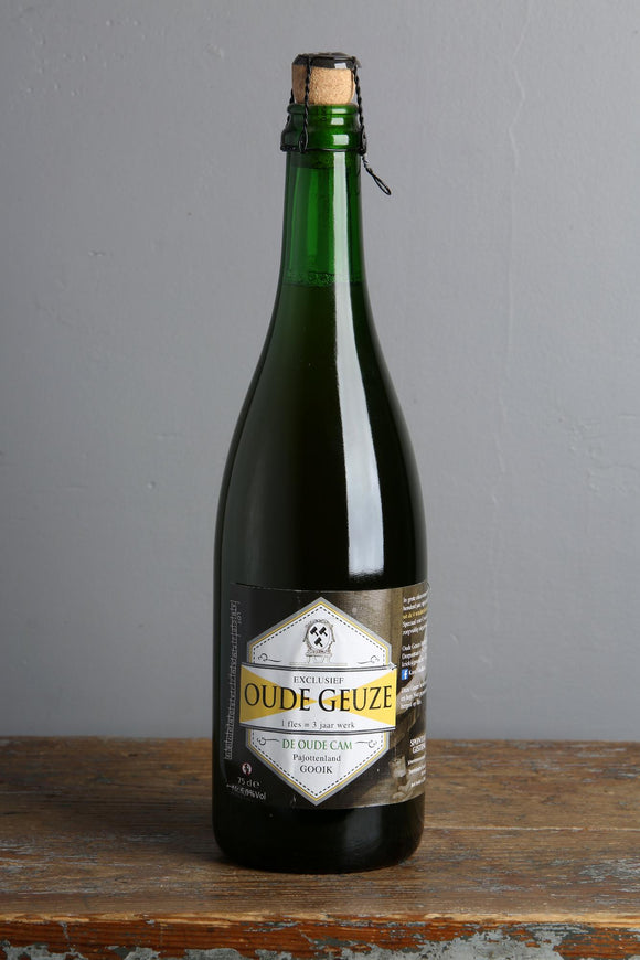 Oude Geuze Belgian Beer made by De Cam