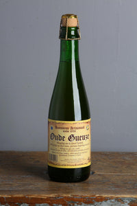 A classic Geuze style from Hanssens brewery in Belgium. 750 ml Bottle