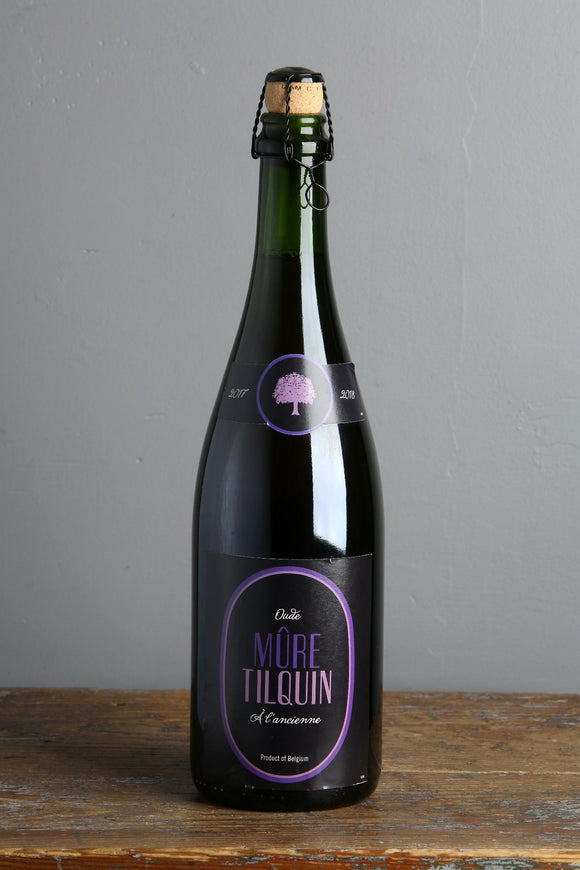 750 ml of Belgian Lambic Beer with blackberries from Gueuzerie Tilquin, Belgium