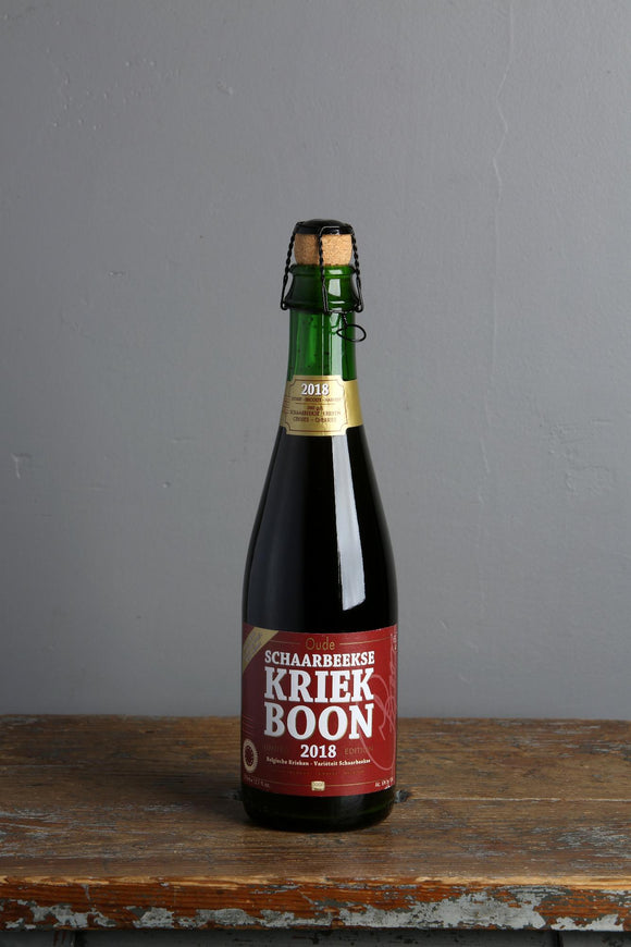 Belgian style cherry beer. Brewery Boon blended Lambic with Schaarbeekse cherries. Buy in Beerfox craft beer shop