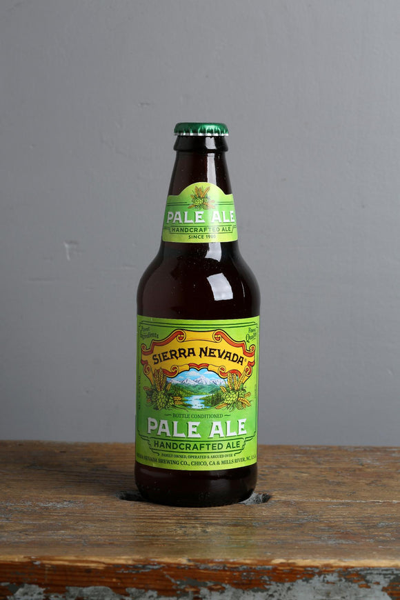 A legend. Sierra Nevada's Pale Ale available in Beerfox craft beer store.