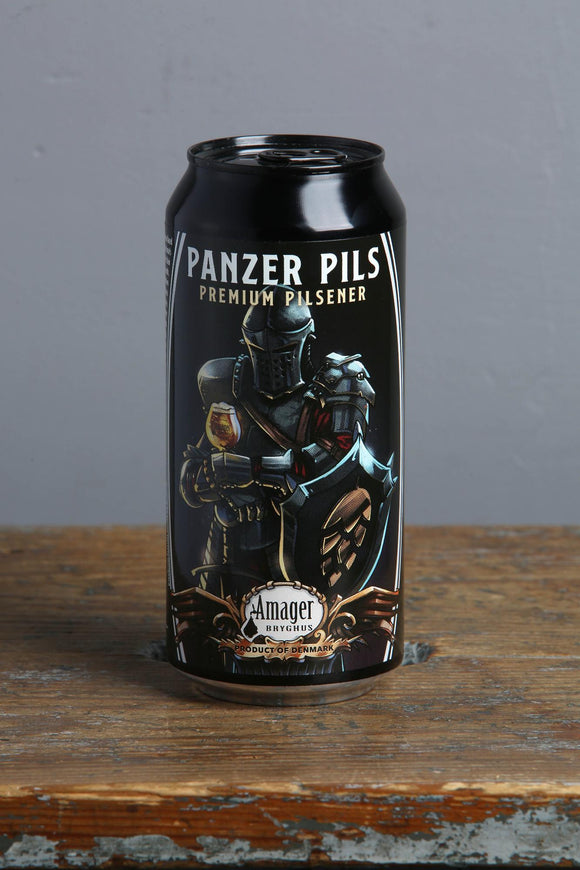 Panzer Pils German style pilsner from Amager in a 440 ml can