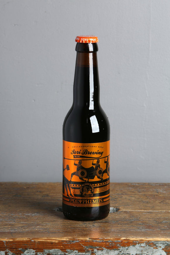 A imperial stout from Estonia by Sori Breweing. 330 ml bottle.