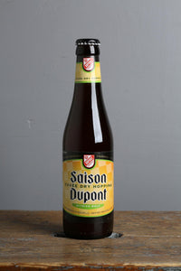 Belgian Saison Dupont with Styrian Wolf hops from Belgium