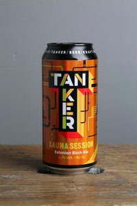 440 ml can of Sauna session Ale brewed with birch. Estonian craft beers