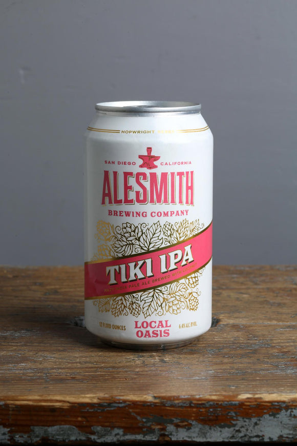 Tiki New England IPA craft beer