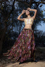 Load image into Gallery viewer, Raw Silk Lehenga set