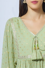 Load image into Gallery viewer, Foil Print Kurta Set
