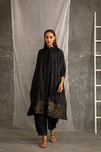 Load image into Gallery viewer, Coal Black Kurta Set