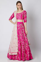 Load image into Gallery viewer, Fuchsia Lehenga