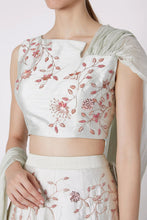 Load image into Gallery viewer, Mint Green Lehenga Set