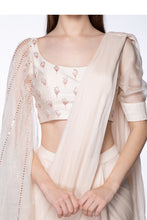Load image into Gallery viewer, Cream Saree