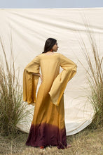 Load image into Gallery viewer, Ombre shaded hand dyed Kaftan style