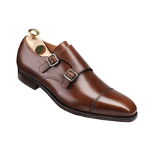 Load image into Gallery viewer, Crockett &Jones Lowndes(深棕色烧焦小牛)