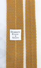 Load image into Gallery viewer, Knitted Silk Tie (Gold)