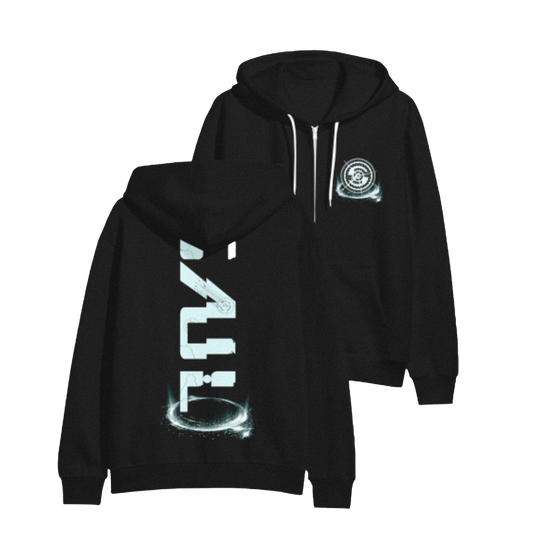 Cosmic Ray Zip-Up Hoodie