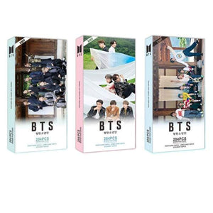 BTS 30 Lomo Card 30 Postcard 144 Stickers - Photocard