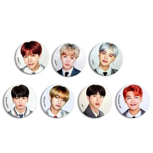 Bts 4Th Muster Happy Badge (Set) - Badge