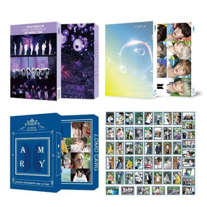 BTS 54pcs Lomo Card (Love Yourself Summer Package Lights) - Photocard