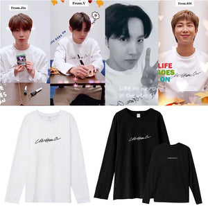 BE Life Goes On Design Sweatshirt - Bangtanmania | BTS Merchandise Shop | BTS Clothings & Accessories