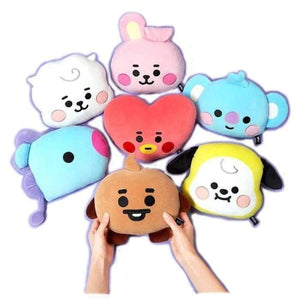 BTS BT21 Baby Cute Hand Plushies - Set Of 7 (Save 20%) - BT21
