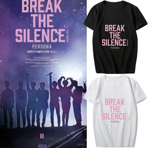 BTS Break The Silence Design T-shirt - / / - T-shirt