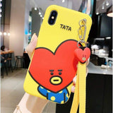 BTS BT21 Character Rubber Phone Case - TATA / iPhone 6/6s - BT21