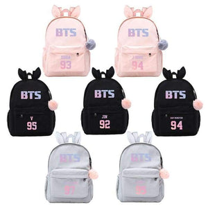 BTS Classic Logo Bunny Backpack - Backpack