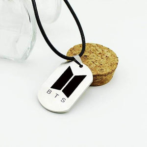 Bts Official Logo Classic Necklace - Accessories