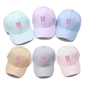 BTS Official Logo Color Cap - Hat