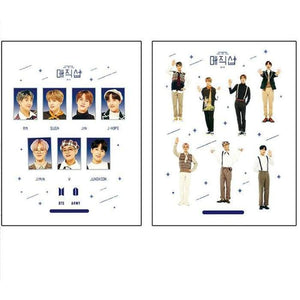 BTS FESTA with Official Logo Stickers - Stickers