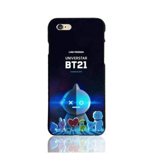 Bts Bt21 Iphone Case - Bt21 / For Iphone 5 5S - Phone Cases