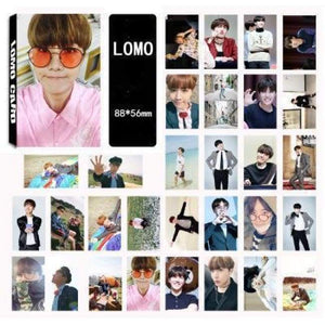 Bts J-Hope Special Lomo Card (30Pcs) - Accessories