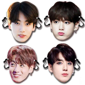BTS Jeon Jeongguk Bias Face Mask - Accessories