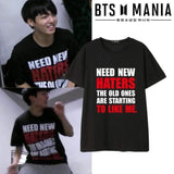 BTS Jungkook Need More Haters T-shirt - T-shirt